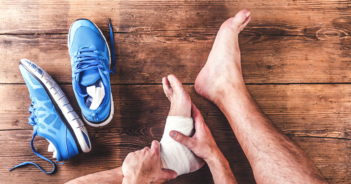 Ankle Sprain Causes Symptoms And Diagnosis