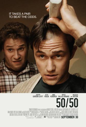 50/50 Film poster