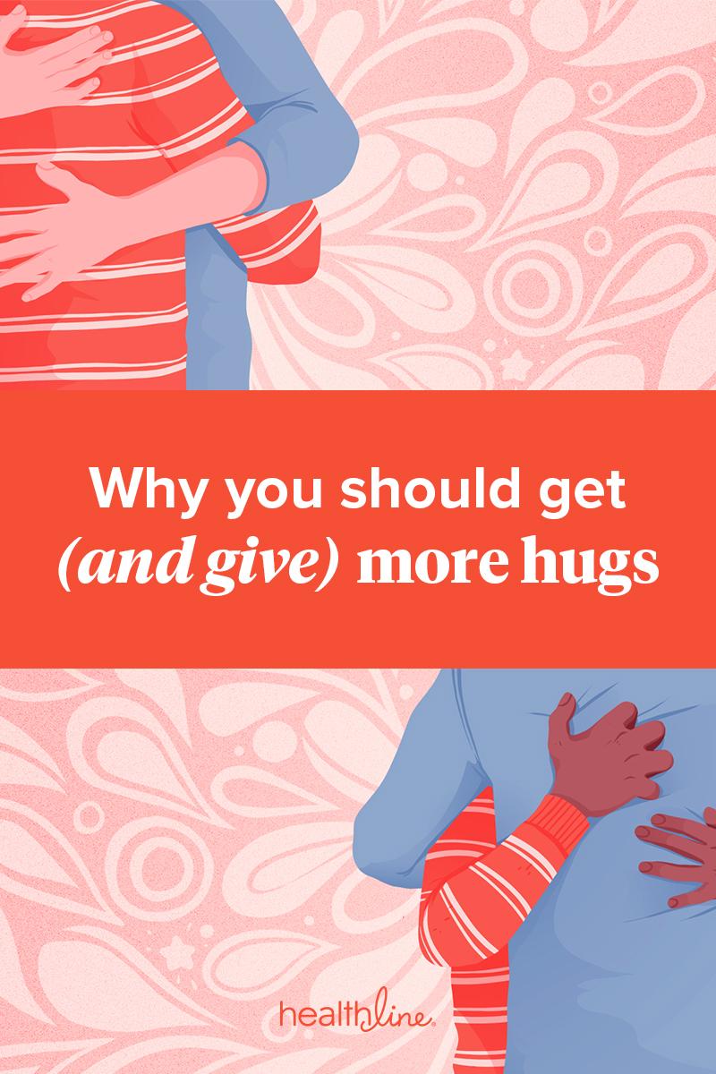 Hugs are healthy
