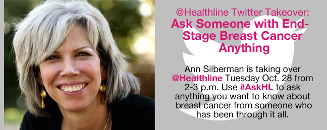 Ann Silberman twitter chat breast cancer