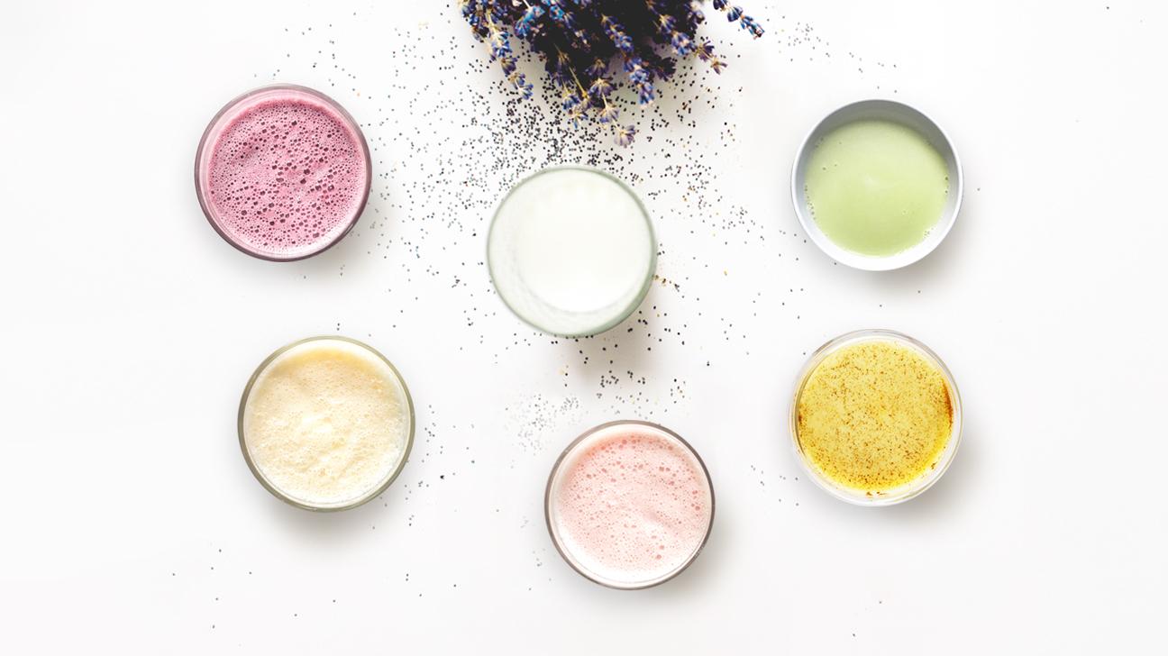 colorful milk