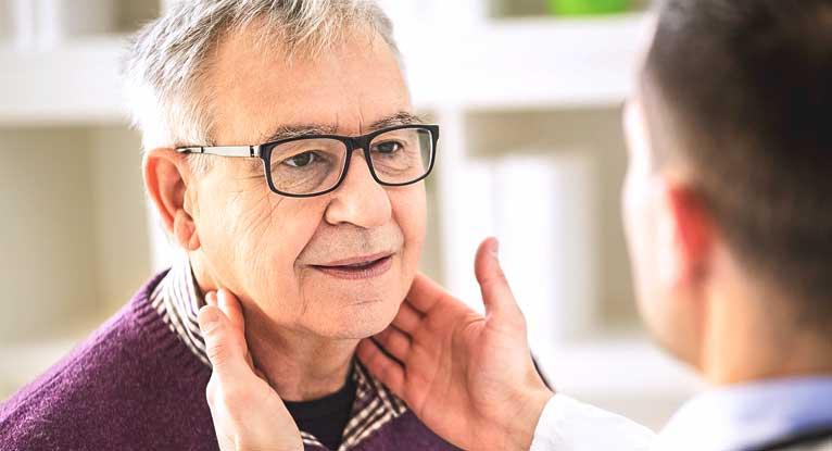 how to feel lymph nodes armpit