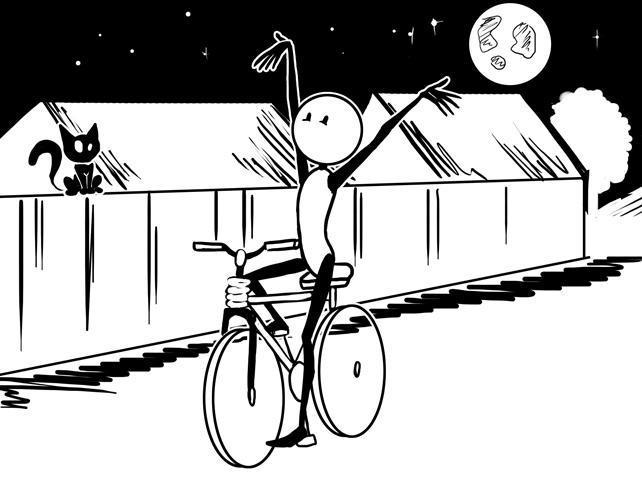 ADHD-bike