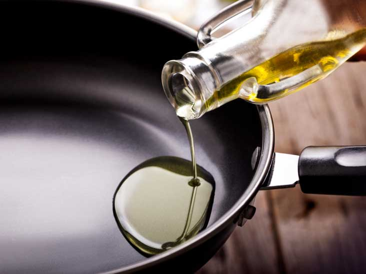 Image result for adding oil to pan