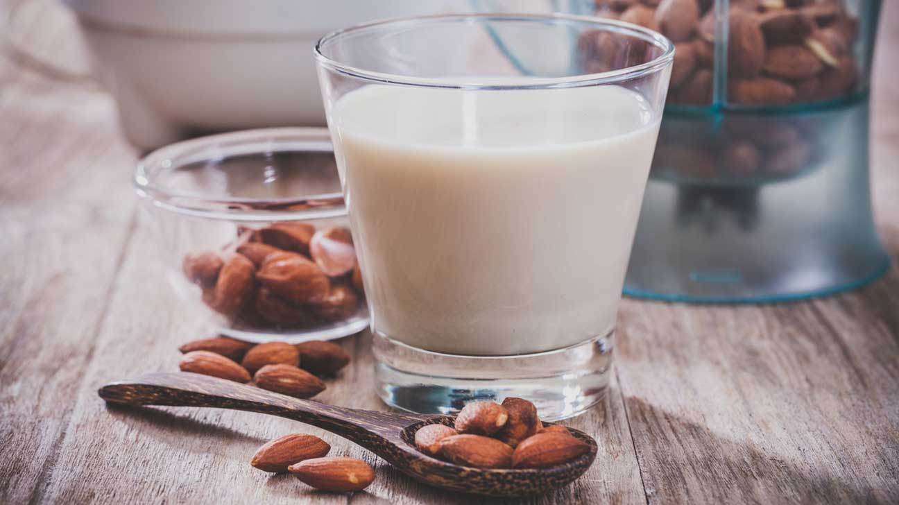 Almonds and Almond Milk