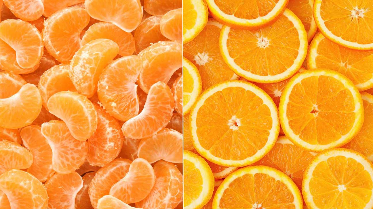 tangerines vs oranges: how are they different?