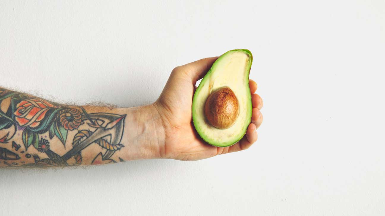 Eating Avocado Seed