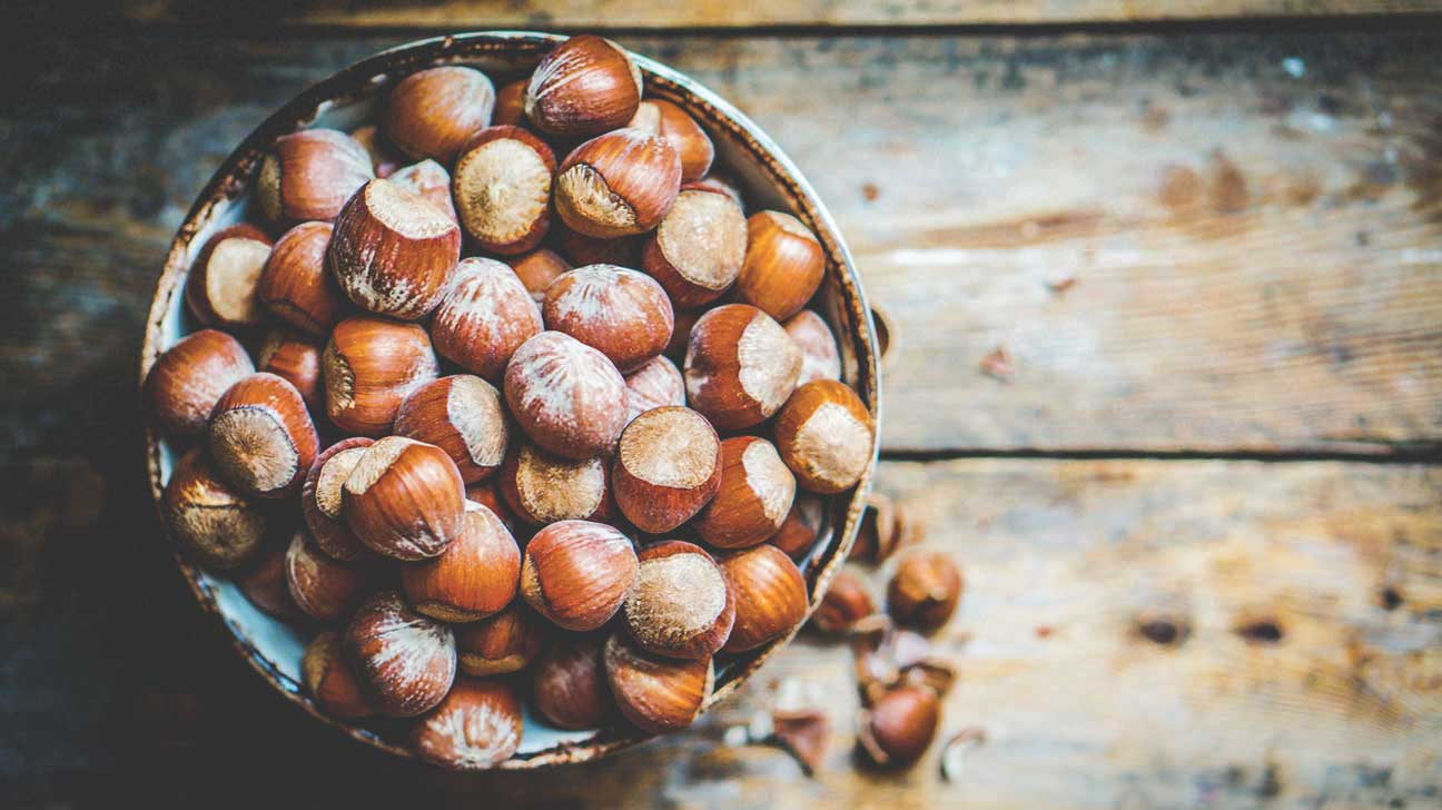 Hazelnuts: useful properties for all 62