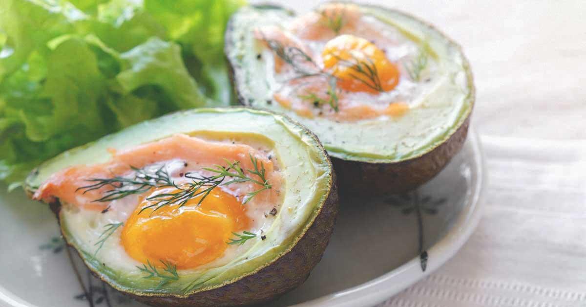 menu low carb - no fat diet