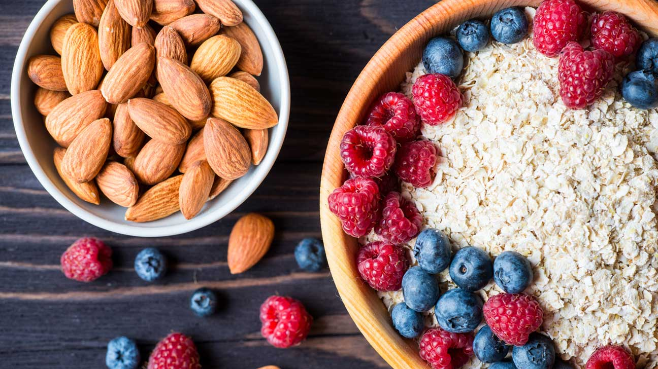 Oats, Almonds and Berries