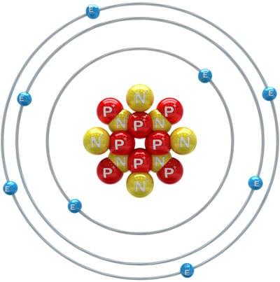 Oxygen Atom Diagram