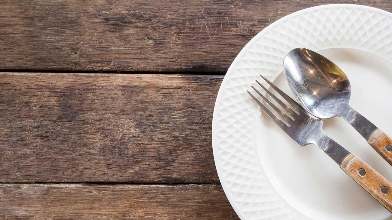 Plate, Fork & Spoon