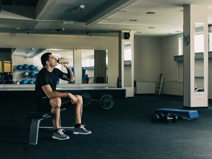 Should you eat protein bar before or after workout