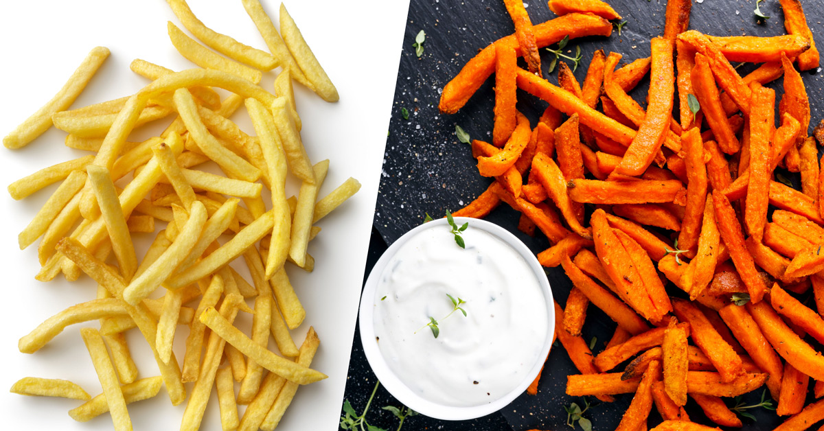 Sweet Potato Vs French Fries Nutrition Calories And More