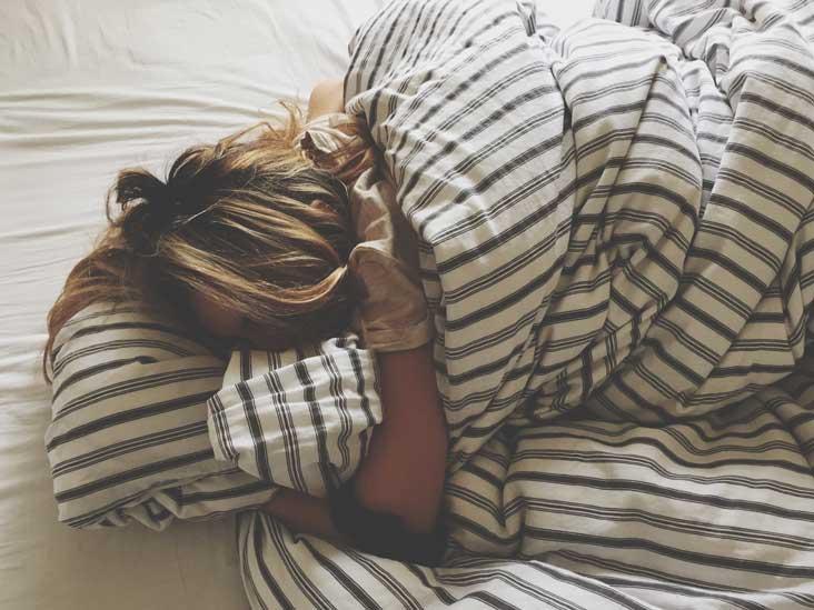 date a sleepy girl