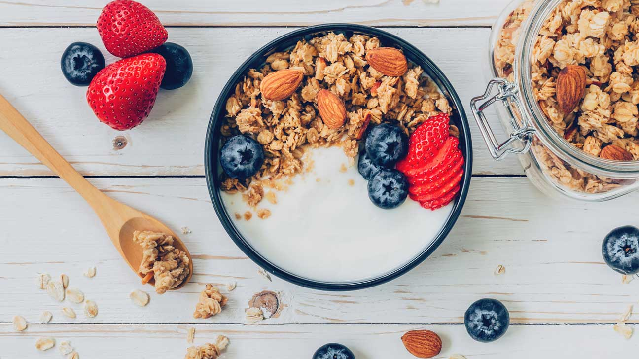 Yogurt, Granola and Berries