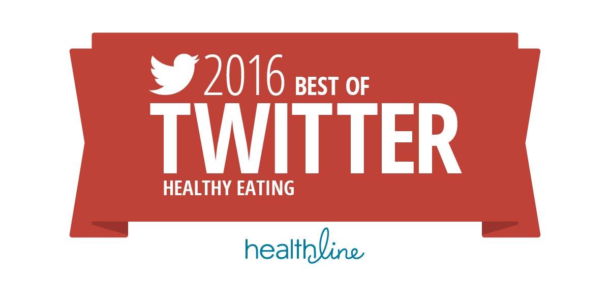 best healthy eating twitters