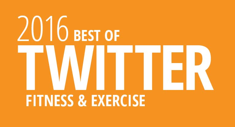 Fitness and Exercise: The Best of Twitter