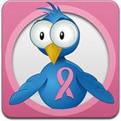 TweetCaster Pink logo