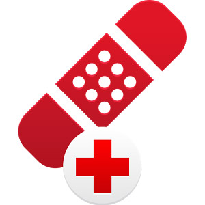 First Aid by American Red Cross logo