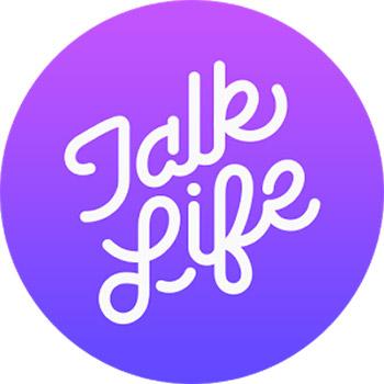 talk life logo