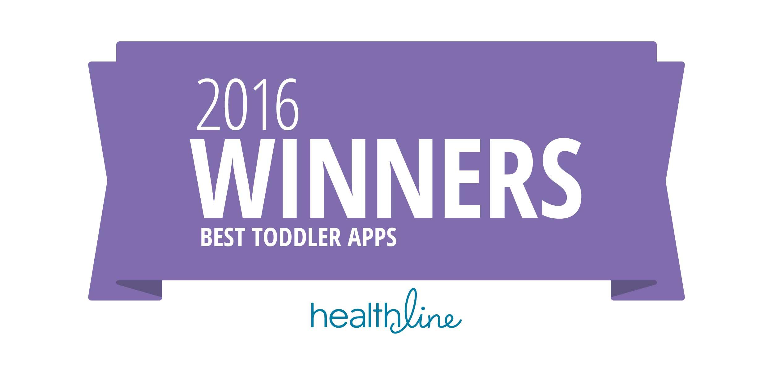 toddler playing an app