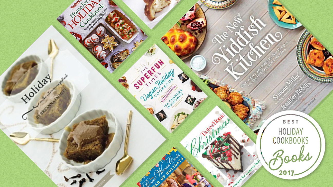 best holiday cookbooks