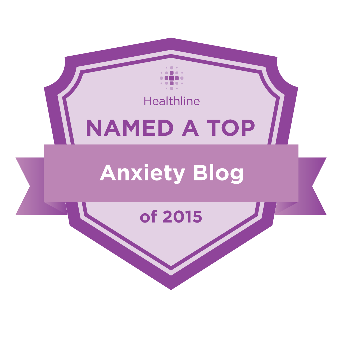 anxiety best blogs badge