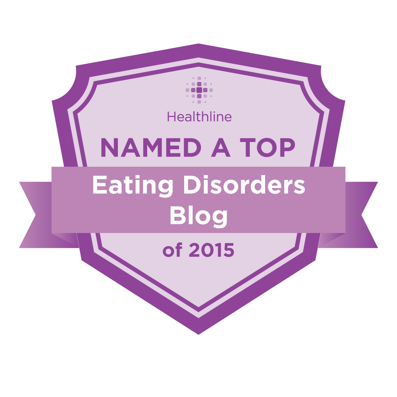 eating disorders best blogs badge
