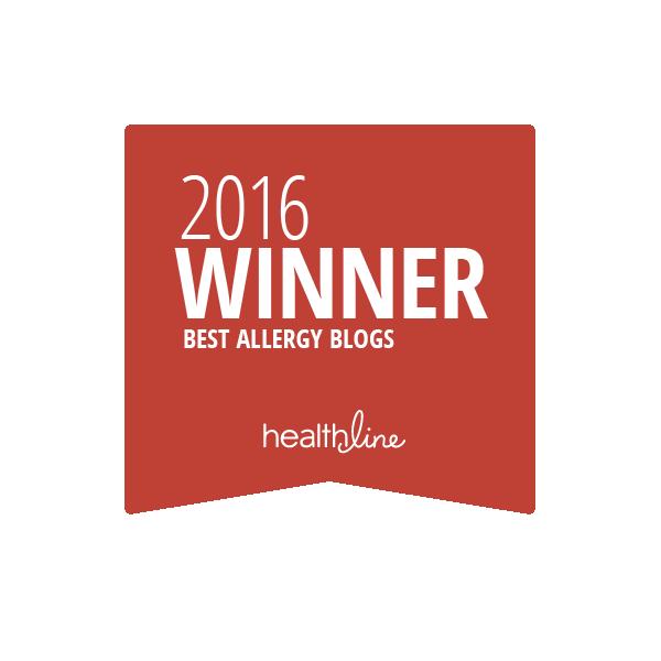 allergy best blogs badge