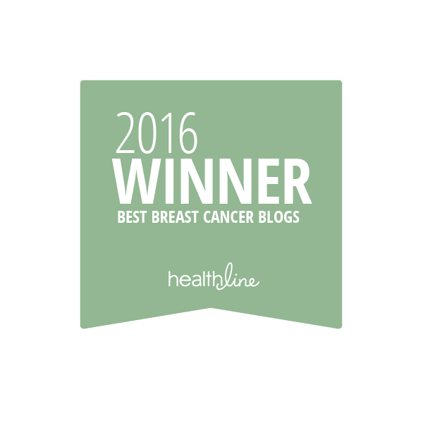breast cancer best blogs badge
