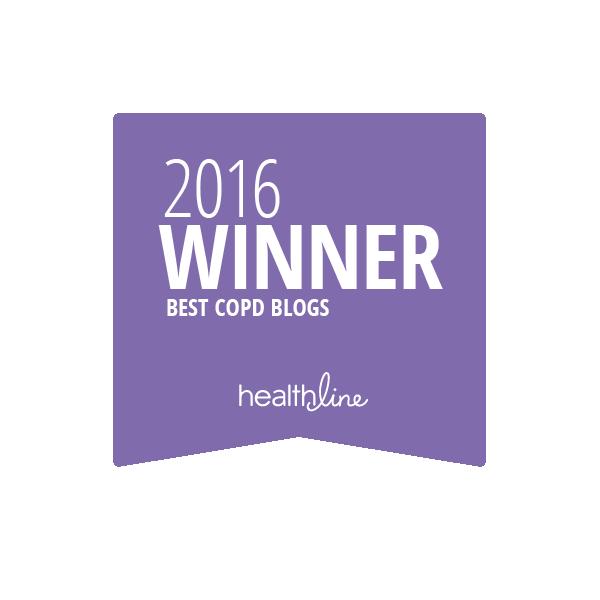 copd best blogs badge