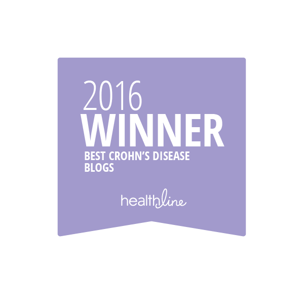crohns disease best blogs badge