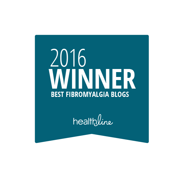 fibromyalgia best blogs badge