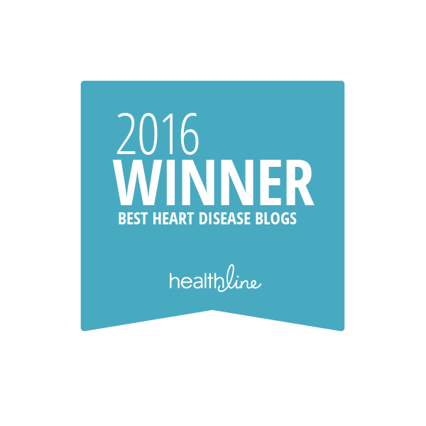 heart disease best blogs badge