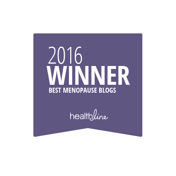 menopause best blogs badge
