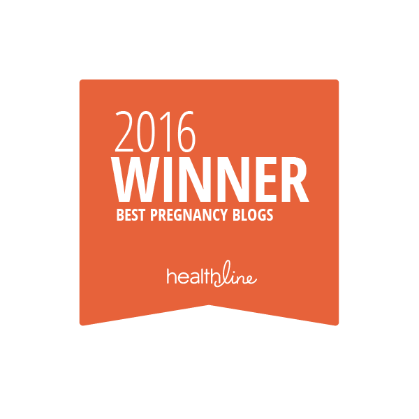 pregnancy best blogs badge