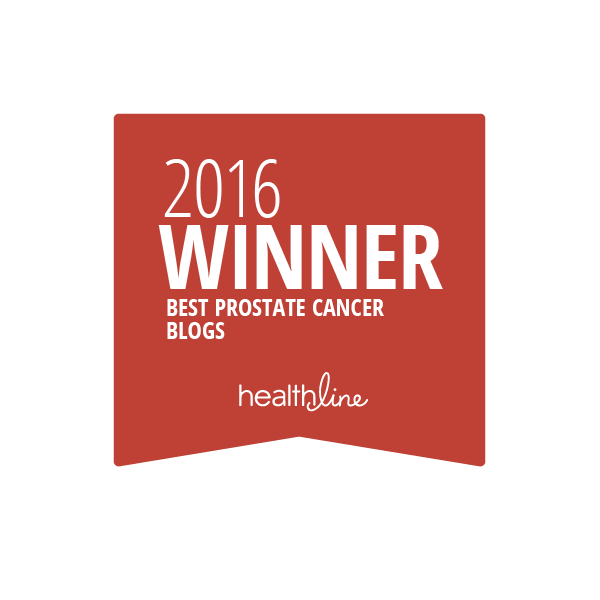 prostate cancer best blogs badge