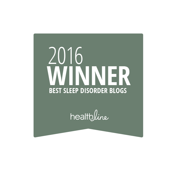 sleep disorder best blogs badge