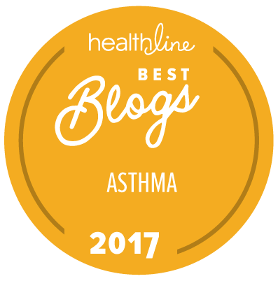 asthma best blogs badge