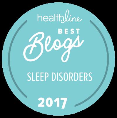 sleep disorder best blogs badge