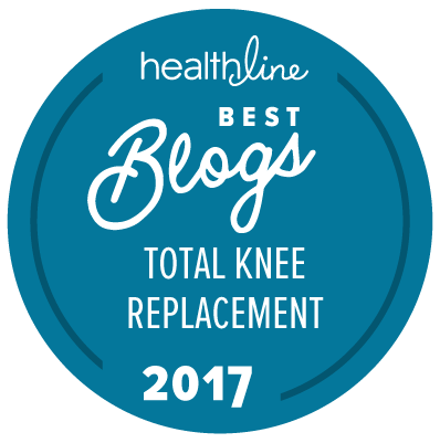 total knee replacement best blogs badge