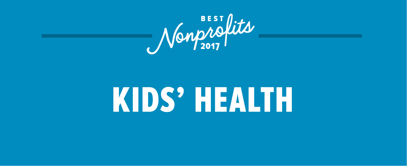 best nonprofits for kids' health