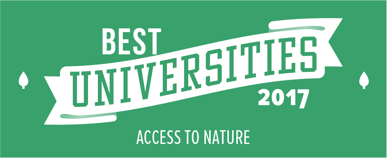 best nature universities