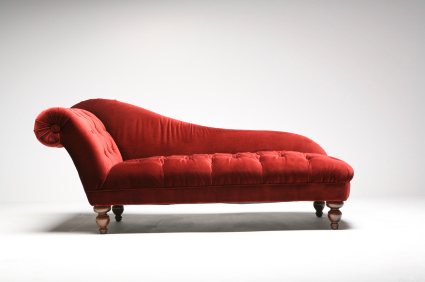 A psychiatrist's couch