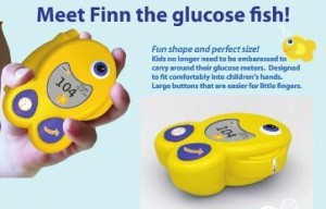 Finn the Glucose Fish