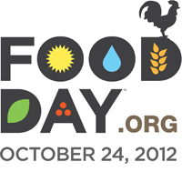 A graphic for Food Day - more info at foodday.org