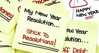 news year's resolutions