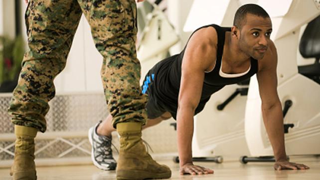 army man pushups