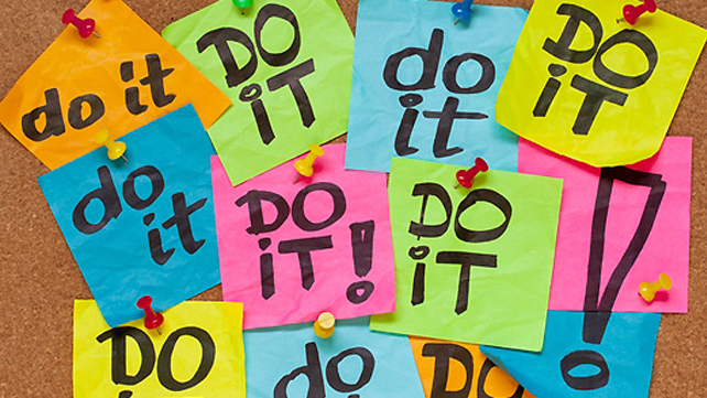 post its telling you to do it